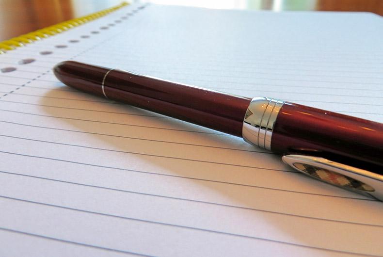 の ボールペン 落とし 方 の インク